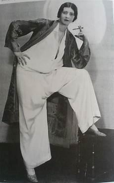 Pyjama D Edward Molyneux Edgy Roaring Twenties