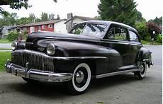 all american classic cars 1948 desoto custom 2 door brougham sedan
