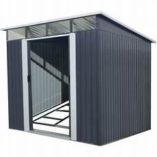 gartenhaus aus metall 5 64m 178 skylight anthrazit