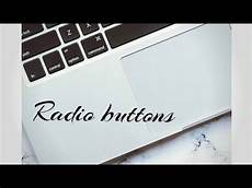 html5 part 12 radio buttons youtube