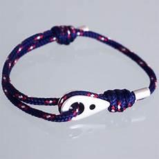 bracelet marin poulie avec paracord navy taille homme