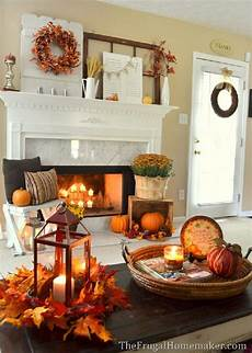 Home Decor Ideas For Fall by 14 Cozy Fall Fireplace Decor Ideas To Right Now
