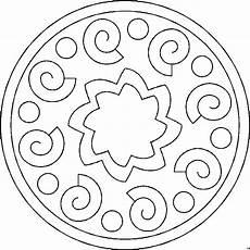 Malvorlagen Mandala Gratis Schoenes Mandala Ausmalbild Malvorlage Mandalas