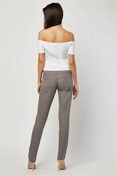 low waist low waist slim fitted grey just 163 5