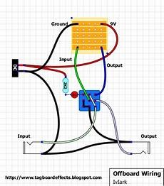 guitar effects wiring diagram guitar fx layouts offboard wiring