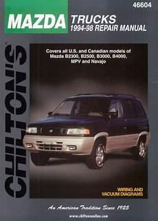 small engine maintenance and repair 1990 mazda mpv interior lighting 1994 1998 mazda trucks chilton s total car care manual