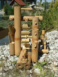 decoration cascade d eau fontaine bambou cascade jeu d eau d 233 coration jardin patio