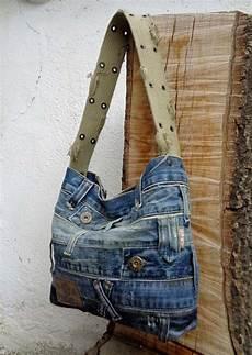 Denim Purse Handbag Bag Ooak Made Just For You Sac En