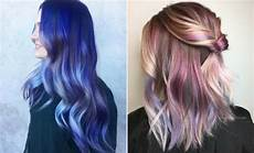 cool hair dye ideas for brown hair 23 unique hair color ideas for 2018 stayglam