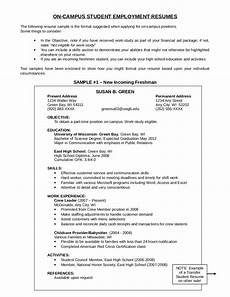 cus student employment resumes edit fill sign online handypdf