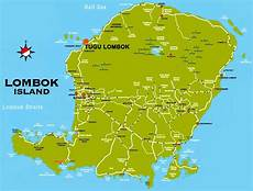 Lombok Mapking | large lombok island maps for free download and print