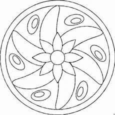 Malvorlagen Mandala Gratis Mandala Blume Mittig Ausmalbild Malvorlage Mandalas