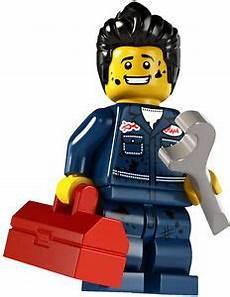 lego car series lego minifig series 6 mechanic city car wheels ebay