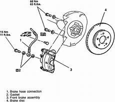 repair anti lock braking 1995 mitsubishi diamante free book repair manuals repair guides disc brakes disc brakes autozone com
