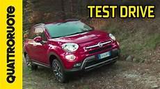 Fiat 500x 4x4 2014 Test Drive Prova Su Strada