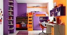 chambre fille violet chambre ado fille couleurs violet et orange chambre de fille
