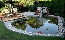 Steingarten Mit Teich - unser gartenteich foto bild landschaft bach fluss