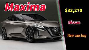 2020 Nissan Maxima Concept  & Dodge Cars Review