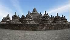 Pemandangan Candi Borobudur Tempat Wisata Foto Gambar