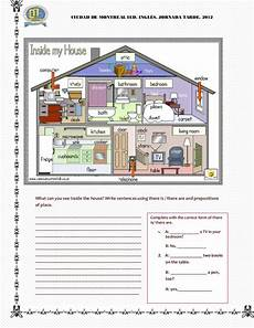 places in the house worksheets 15999 a new place partsw of the house furniture
