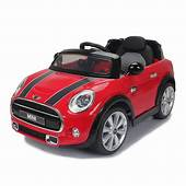 Daymak Mini Cooper Kids Electric Ride On Toy Car  Red