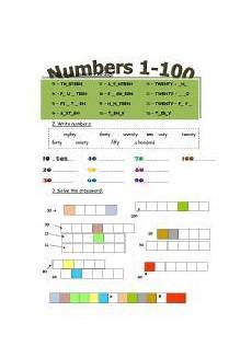 english teaching worksheets numbers 1 100 englisch