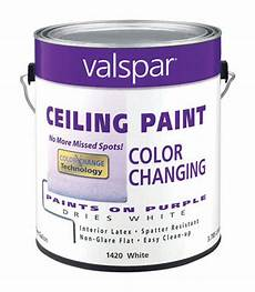 valspar flat color changing ceiling paint purple to white 1 gal stine home yard the