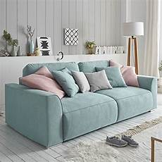 sofa mit bettkasten modernes design big sofa weekend aquamarin schlaffunktion