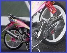 Modif Mio Soul Velg Lebar by Modif Motor Yamaha 2011 Yamaha Mio Soul Modifikasi Racing