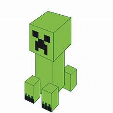 minecraft creeper 3d pen creation library