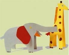 Tiere Basteln Aus Papier - basteln mit kindern kostenlose bastelvorlage tiere
