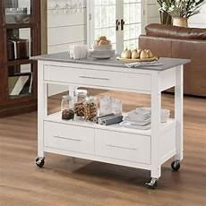 kitchen furniture ottawa ottawa kitchen cart stainless steel white acme furniture