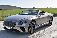 2020 bentley continental gt convertible first review