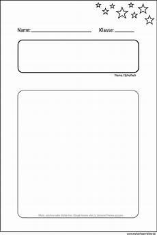 Malvorlagen Bilder Inhaltsverzeichnis Deckblatt F 252 R Die Schule Zum Gratis Ausdrucken