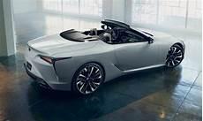 new lexus lc 500 convertible concept 2019