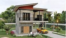 low cost simple two storey house design philippines simple two storey house with two bedrooms cool house