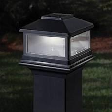deckorators solar cap light copper