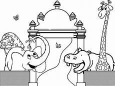 Zootiere Malvorlagen Text Ausmalbilder Zootiere Zum Ausdrucken 1ausmalbilder