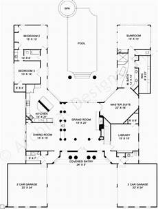 u shaped house plans with pool in middle u shaped house ns with pool in middle australia courtyard