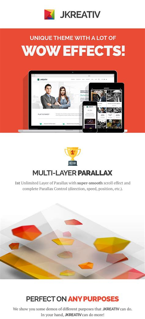 jkreativ v2 2 4 multilayer parallax multipurpose theme