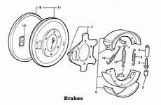 9n ford tractor brake diagram ford 2n 8n 9n brake parts list