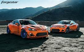 Not 1 But 2 Hot Lava Rocket Bunny Widebody Scion FRS
