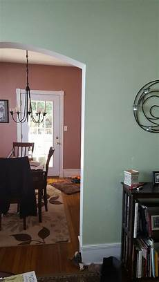 warm greige paint color for low light facing living dining rm