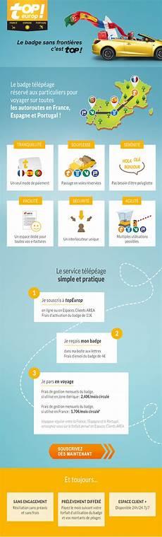 badge telepeage europe topeurop abonnement autoroute et badge t 233 l 233 p 233 age area pour la l espagne et le portugal