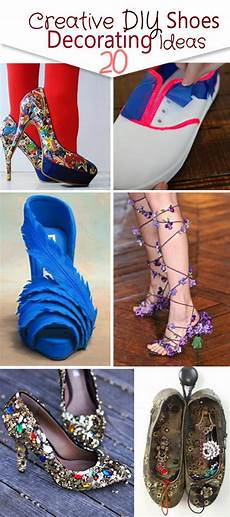 diy wedding shoe decoration 20 creative diy shoes decorating ideas hative