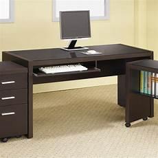 coaster skylar computer desk with keyboard drawer value