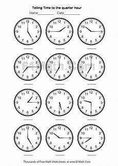 time to the hour worksheets for 2nd grade 3639 telling time worksheets telling time to the quarter hour create your own math worksheets