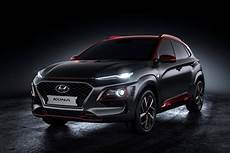 Hyundai Kona Iron Edition Unveiled At 2018 San Diego
