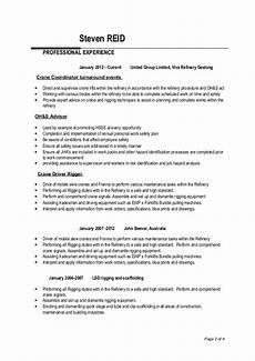 steven reids resume