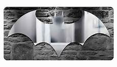 light up and reflect your inner hero with a batman logo mirror and light